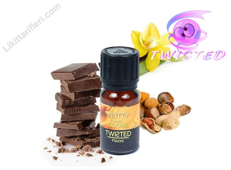 Twisted Nutty Bobby Cookie Likit Aroma